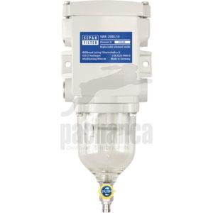 Waterafscheiding SEPAR 2000 voor opbouw achteraf