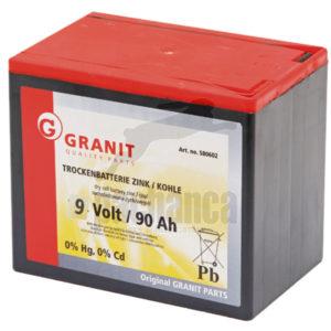 GRANIT batterijen voor schrikdraadapparatuur